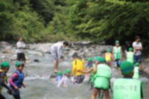 812川遊び
