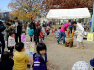 201912_たけのこ祭り_餅つき